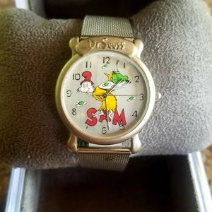 Dr.suess Accessories - Rare vintage 1997 dr.suess green eggs & ham watch